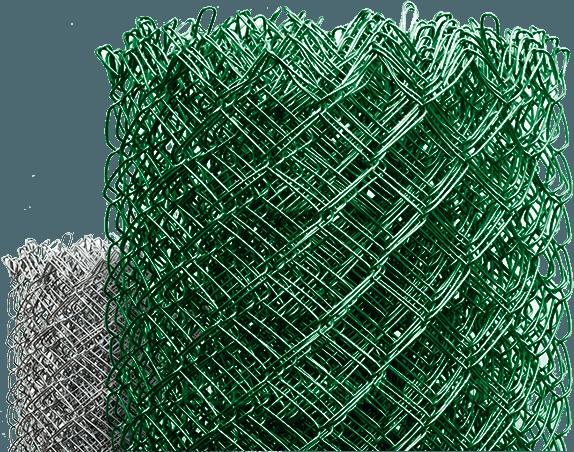 сетка рабица зеленого цвета
